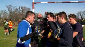 Lupta de senzatie intre durii din MMA si uriasii din rugby. Cine a castigat