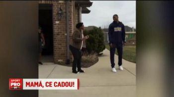 Mama, ce cadou! Un pusti debutant in NBA i-a facut mamei sale un cadou de 50 de mii de dolari. Reactia acesteia e nepretuita :)