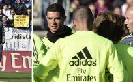 Prima zi cu Zidane antrenor la Real Madrid: mii de fani au venit sa-l vada! Ce reactie au avut cand a aparut Zidane