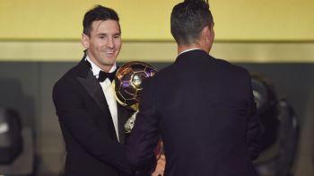 FOTO | Reactia lui Cristiano Ronaldo la aflarea vestii ca Messi este Balonul de Aur. Grimasa facuta de portughez: de nepretuit