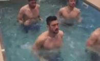 Bucuresti: -17 grade. Antalya: stelistii alearga pe sub apa pentru titlul 27. :) Ultima inventie a lui Neubert in Turcia