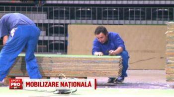 Mobilizare generala la Cluj, inaintea intalnirii Romania - Cehia, de la Fed Cup: 7.300 de fani sunt asteptati sa bata recordul de asistenta la meciurile Simonei Halep