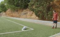 """""""Ce ziceti, nimeresc bara transversala de la corner?"""" Ce a facut Messi la prima incercare :) VIDEO"""