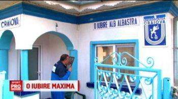 O iubire maxima | Cel mai mare fan al Craiovei nu e din Craiova, dar si-a vopsit casa in culorile echipei de suflet. Icoana lui e un tablou cu Balaci