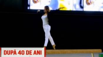 Nadia, din nou pe barna in sala de la Montreal! Video SENZATIONAL