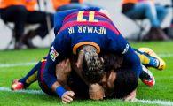 SET: Barcelona 6-0 Getafe! Un gol, trei pase de gol si un penalty ratat pentru Messi! Neymar a dat o dubla