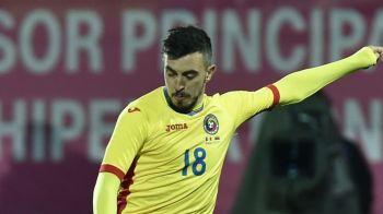 """Golgheterul Ligii I vrea sa-si consolideze locul pentru EURO. Hora: """"Ar fi un vis sa marchez in poarta Spaniei"""". Ce spune despre cel mai imporant meci al carierei"""