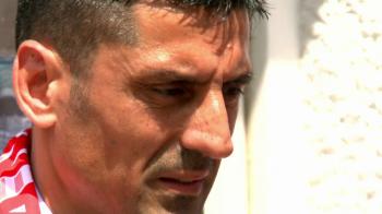 """""""Stai calm si iubeste Dinamo"""" Mesajul cu care Danciulescu i-a asteptat pe fanii lui Dinamo la casele de bilete pentru finala Cupei"""