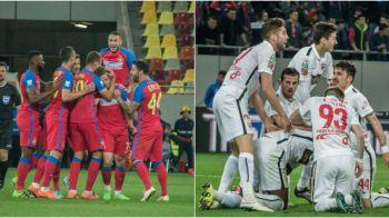 Scenariu posibil in finalul de sezon: Steaua poate pierde si locul 2, Dinamo are nevoie de o victorie 8-0 cu Astra. Ros-albastrii sunt, insa, siguri de Liga Campionilor