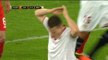 Ar fi fost cel mai tare gol din Europa League! Foarfeca SUPERBA Gameiro, putin pe langa! VIDEO