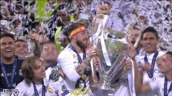 UNDECIMA! Madridul e ALB, Real e din nou Regina Europei! Vezi imagini de la festivitatea de premiere. VIDEO