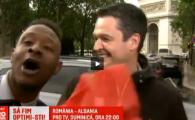 """Imagini incredibile aseara la ProTV: Lucian Lipovan, """"atacat"""" in timpul live-ului de la Paris VIDEO"""