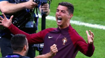 Ronaldo, trofeul e al tau!!! Portugalia e CAMPIOANA EUROPEI, dupa 1-0 cu Franta! Final nebun, istorie pentru portughezi: Eder a marcat in minutul 108! REZUMATUL VIDEO