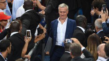 Reactia selectionerului Frantei dupa esecul dramatic din finala EURO: francezii se pregatisera pentru trofeu