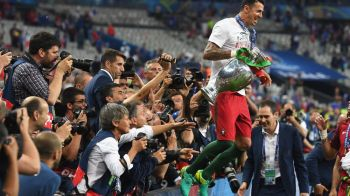"""Sa-mi ecranizati povestea! Nu-mi vine sa cred, acum cativa ani jucam in liga a treia"". Ascensiunea formidabila a unui portughez catre trofeul EURO"