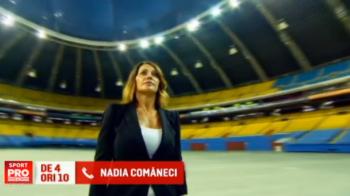 """""""Nu-mi vine sa cred ca au trecut 40 de ani"""". Nadia Comaneci, pe lista celor 3 MITURI din sport, in ziua in care a aniversat 40 de ani de la primul 10 din gimnastica"""
