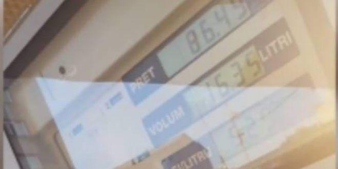 Acest VIDEO a devenit instant viral! O femeie din Slatina a scos pompa din rezervor, insa era taxata in continuare. Ce a urmat