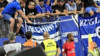 Scene halucinante in Franta! Lucas de la PSG a fost lovit in cap de fanii celor de la Bastia