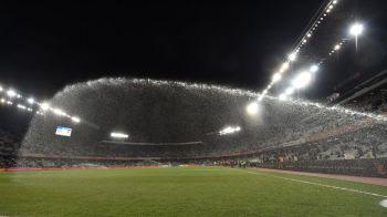 """UEFA a inspectat Cluj Arena si a ramas in pronuntare: FRF afla pana maine daca meciul Romania - Muntenegru se joaca la Cluj sau se muta! """"Gazonul va fi 80% refacut"""""""