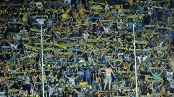 Imagini senzationale |Peste 6000 de suporteri au sustinut Petrolul in liga a patra:VIDEO