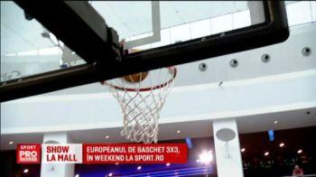 Am inceput cu dreptul Europenele de Baschet 3 la 3. Romancele au castigat primul meci cu Belgia - VIDEO