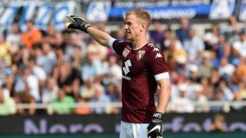 VIDEO Primul meci, prima GAFA! Hart, criticat de italienii dupa debutul de la Torino. Cum a comis-o portarul englez