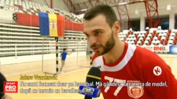 Croatul Vrankovic s-a intors la Dinamo cu inca un titlu: a iesit Mister Turism in tara sa :) Ce spune handbalistul   VIDEO