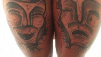 FOTO SOCANT! Ce star din fotbal si-a tatuat asa ceva pe picioare. A devenit viral