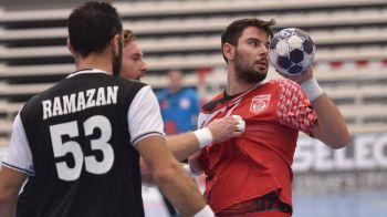Remiza dramatica pentru Dinamo in grupele Ligii la handbal masculin. Alb-rosii au condus la un gol in ultima secunda, dar au fost egalati dupa o faza rara