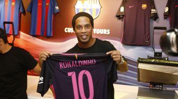 """""""Neymar nu e urmasul meu la Barcelona!"""" Cui i-ar da Ronaldinho Balonul de Aur din acest an"""