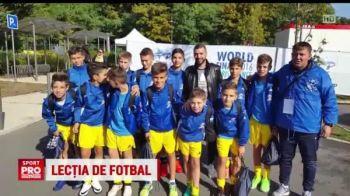 Supervizita primita de pustii Romaniei la Danone Nations Cup: Simao Sabrosa, fostul jucator al Barcei si al lui Atletico, a mers sa-i incurajeze. VIDEO