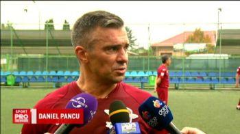 """Pancu, gata sa joace din nou pentru Rapid! Atacantul are o solutie: """"Stiti bine la ce echipa am jucat eu"""" VIDEO"""
