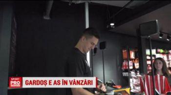 Gardos a revenit la antrenamentele lui Southampton, iar englezii ii dau si alte sarcini: fundasul a fost vanzator la magazinul oficial pentru o ora :) VIDEO