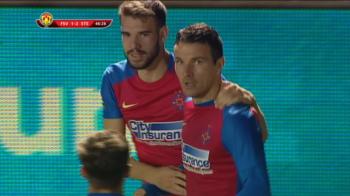 Foresta Suceava 1-2 Steaua. Victorie a ros-albastrilor intr-o atmosfera superba, dar pe un teren prost. Vezi TOATE FAZELE VIDEO