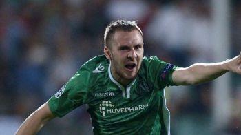 Cand nu marcheaza Keseru, o face Moti. Ludogorets l-a invins pe Edi Iordanescu si a egalat-o pe Levski in lupta pentru titlul din Bulgaria | VIDEO