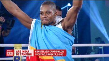 Povestea emotionanta a refugiatului care a ajuns campion mondial. Revansa Ngimbi vs Paraschiv, sambata la Sport.ro | VIDEO