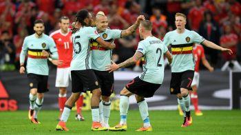 """Meciul cu cele mai multe goluri de pana acum in preliminariile pentru Mondial. Tudor a arbitrat """"macelul"""" Belgia 8-1 Estonia. VIDEO"""