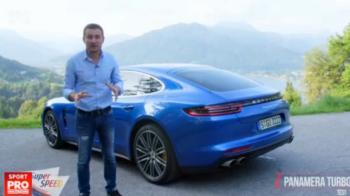 FIRST DRIVE: Porsche Panamera, cea puternica limuzina din lume! Super Speed a testat-o in Germania. VIDEO