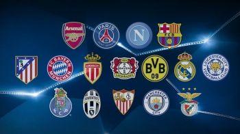 Tragere incredibila: din nou Bayern - Arsenal in primavara Ligii! Realul merge in Italia, iar Barcelona la Paris. Meciurile din optimile Ligii