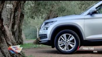 PRIMA TURA cu SUV-ul pregatit sa faca ravagii printre romani! Super Speed a testat noul Kodiaq! VIDEO
