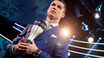 """""""Inteleg de ce Messi nu e aici"""" Ronaldo continua arogantele dupa ce a devenit THE BEST!"""