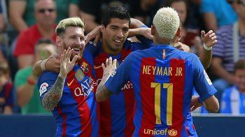 Din nou MSN. Messi, Suarez si Neymar au marcat si au dus-o pe Barca in sferturile Cupei Spaniei. VIDEO