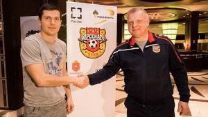 OFICIAL   Bourceanu, prezentat la noua echipa. Mijlocasul poate juca in Rusia pana la 34 de ani