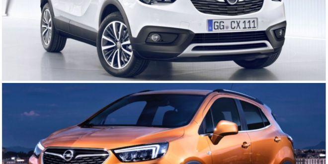 Opel versus Opel: constructorul german vinde doua SUV-uri aproape identice pentru a-si creste vanzarile