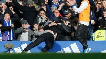 Reactia DEMENTIALA a lui Conte dupa golul lui Hazard. Ce a facut in fata fanilor