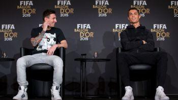Cei mai rapizi in cursa de o suta. O suta de goluri in UCL! Messi si Ronaldo sunt foarte aproape: clasamentul