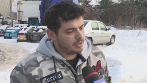 Ce a patit un sofer care si-a dus camionul la un service din Giurgiu pentru a fi reparat. Camera ascunsa