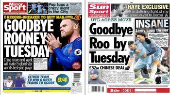 Englezii spun ca se face! Rooney merge in China si va avea un salariu colosal: 64 de milioane pe an!