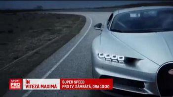 Ronaldo, pilot de teste pentru noul monstru Bugatti, care ajunge la 500 km/h. Imagini la SuperSpeed, sambata, 10:30, la ProTV
