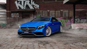 Acest Mercedes-Benz Clasa S Coupe este acum mai puternic decat un Ferrari! FOTO